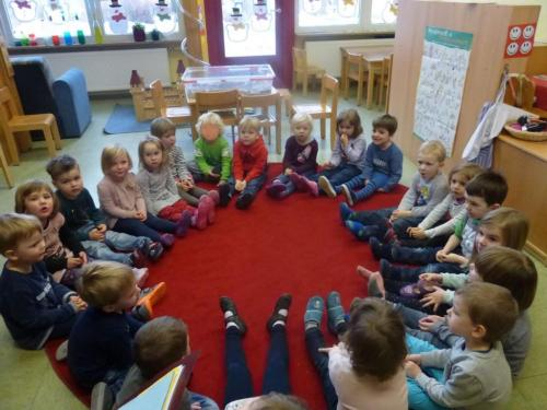 Projektwochen im Kindergarten (Januar 2017)
