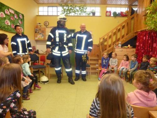 Feuerwehrtag im Kindergarten (Oktober)